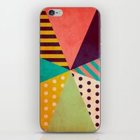 umbrella iPhone & iPod Skins featuring Umbrella by Louise Machado