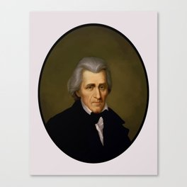 President Andrew Jackson Canvas Print