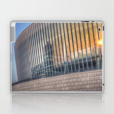 Sunset on modern architecture  Laptop & iPad Skin