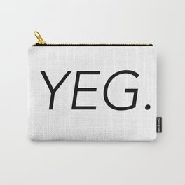 YEG City Code - Edmonton Carry-All Pouch