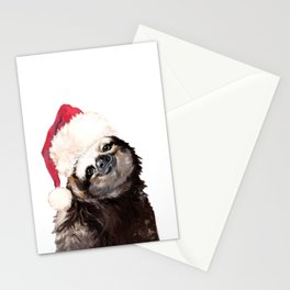 Christmas Sloth Stationery Cards