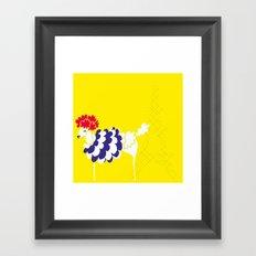 French Poodle Framed Art Print