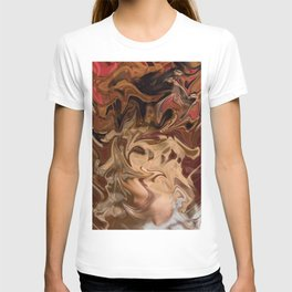 Sundae: two scoops of digital abstraction T-shirt