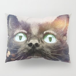 Cat Fish Pillow Sham