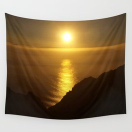 Sunset over the Canary islands Wall Tapestry