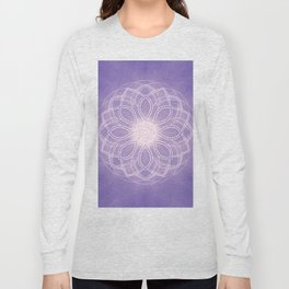 Inner Wisdom Mandala Long Sleeve T-shirt