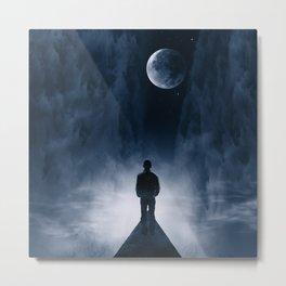 Blue Dream Night Metal Print