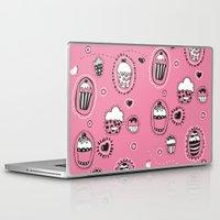cupcakes Laptop & iPad Skins featuring Cupcakes! by Duru Eksioglu