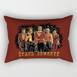 Space Cowboys Rectangular Pillow