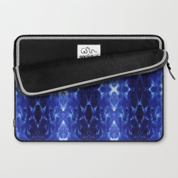 Ikat Shibori Blues Laptop Sleeve