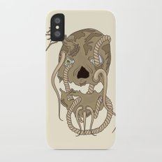 Dead Living by Tree iPhone X Slim Case