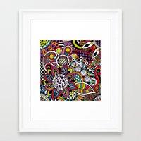 sasha grey Framed Art Prints featuring Sasha. by Digi Treats 2