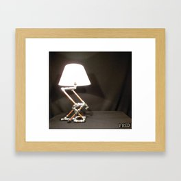 Articulated Desk Lamps - Copper and Chrome Collection - FredPereiraStudios_Page_03 Framed Art Print