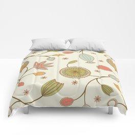 Mehndi Flower Comforters