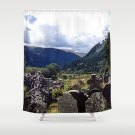 Glendalough, Ireland Shower Curtain
