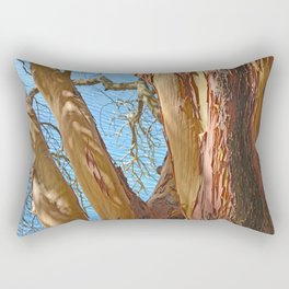 MADRONA TREE BY THE SEA Rectangular Pillow