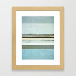 Serious Framed Art Print
