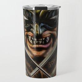Wolverines Travel Mug