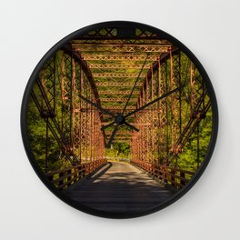 The Old Iron Bridge Wall Clock