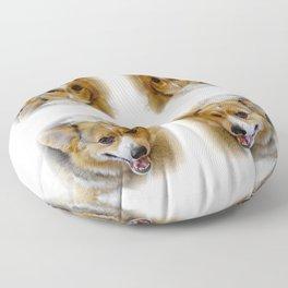 Josh The Corgi Floor Pillow