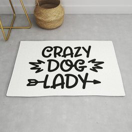 Crazy Dog Lady Rug