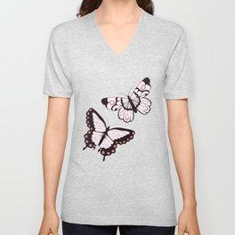 Butterfly pattern 006 Unisex V-Neck