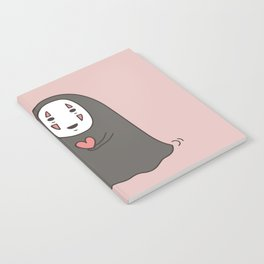 No-Face in Love of SootBall Notebook