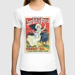 1890 Jardin De Paris Night Party T-shirt
