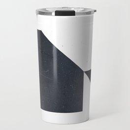 #005 White Travel Mug
