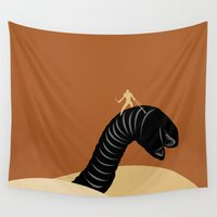 dune Wall Tapestries featuring Dune by FilmsQuiz