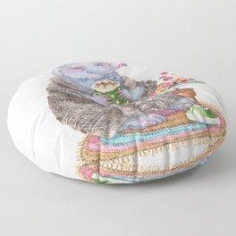 Truffle mole Floor Pillow