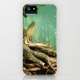 Weird roots iPhone Case