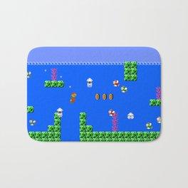 Mario Waterworld Bath Mat