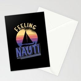 Boat Owner Sailing Ship Captain Sailing Sailboat Stationery Cards