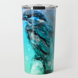 The colorful life of a King Fisher Travel Mug