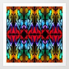 Parrot Patterns Art Print