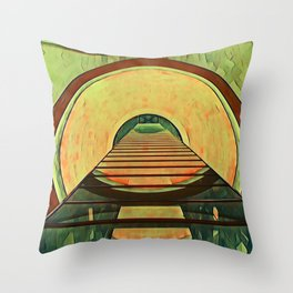 2001: A Space Odyssey Throw Pillow