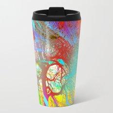 Rainbow Waves Travel Mug