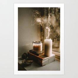 my cozy corner Art Print