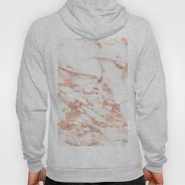 Taggia rose gold marble Hoody