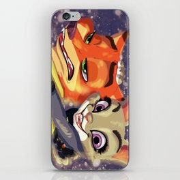 Judy and Nick iPhone Skin