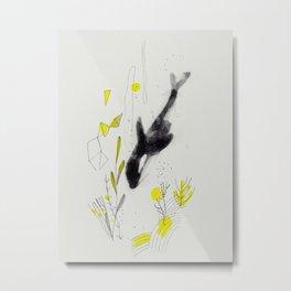 Blackfish Metal Print