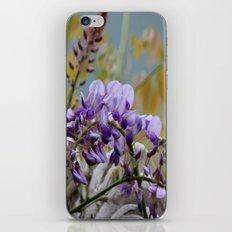 Wisteria - photography iPhone & iPod Skin