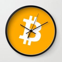 Bitcoin Logo Wall Clock