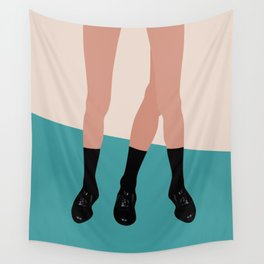 Catch the girl 1 Wall Tapestry
