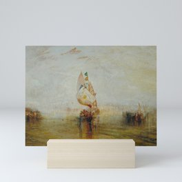 Joseph Mallord William Turner - The Sun of Venice Going to Sea Mini Art Print