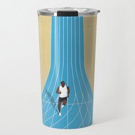 100m | Athletic Track | Motivational  Travel Mug