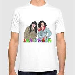 Yas Kween - Broad City - Abbi & Ilana T-shirt