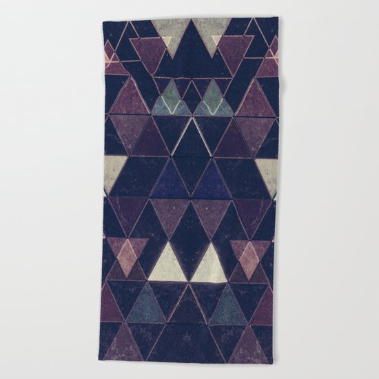 Triangles XXVI Beach Towel