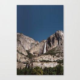 Yosemite Falls VII Canvas Print